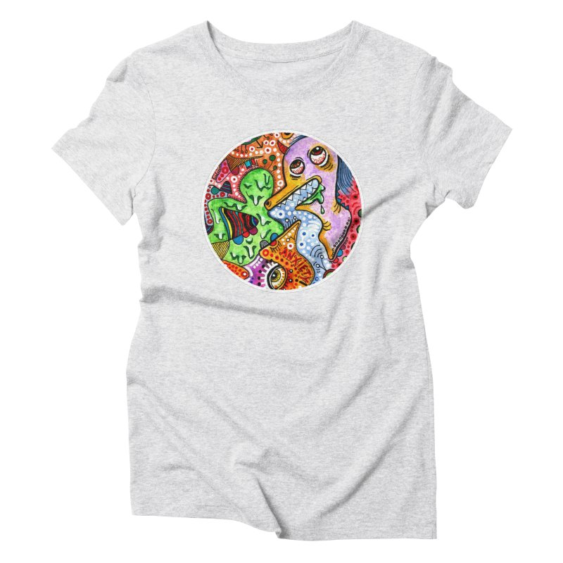 """""""anxiety"""" redesign Women's T-Shirt by J. Lavallee's Artist Shop"""