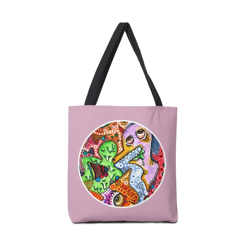 """anxiety"" redesign Accessories Tote Bag Bag by J. Lavallee's Artist Shop"