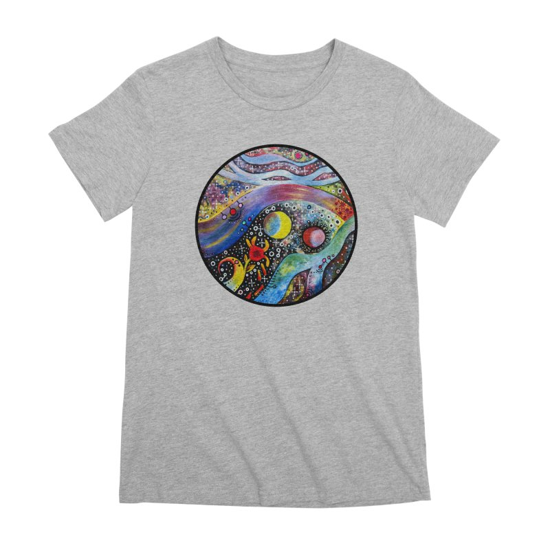 """astral"" redesign Women's Premium T-Shirt by J. Lavallee's Artist Shop"