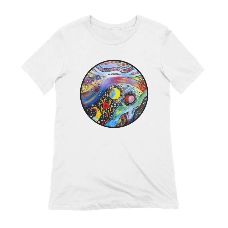 """astral"" redesign Women's Extra Soft T-Shirt by J. Lavallee's Artist Shop"