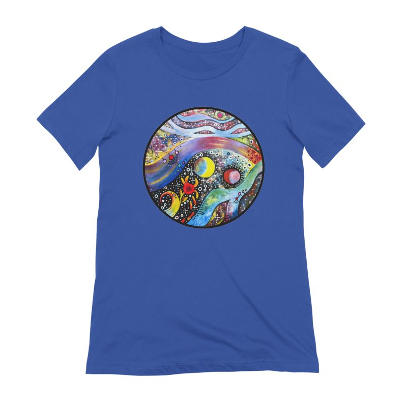 """""""astral"""" redesign Women's Extra Soft T-Shirt by J. Lavallee's Artist Shop"""