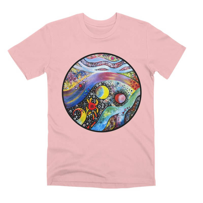 """astral"" redesign Men's Premium T-Shirt by J. Lavallee's Artist Shop"