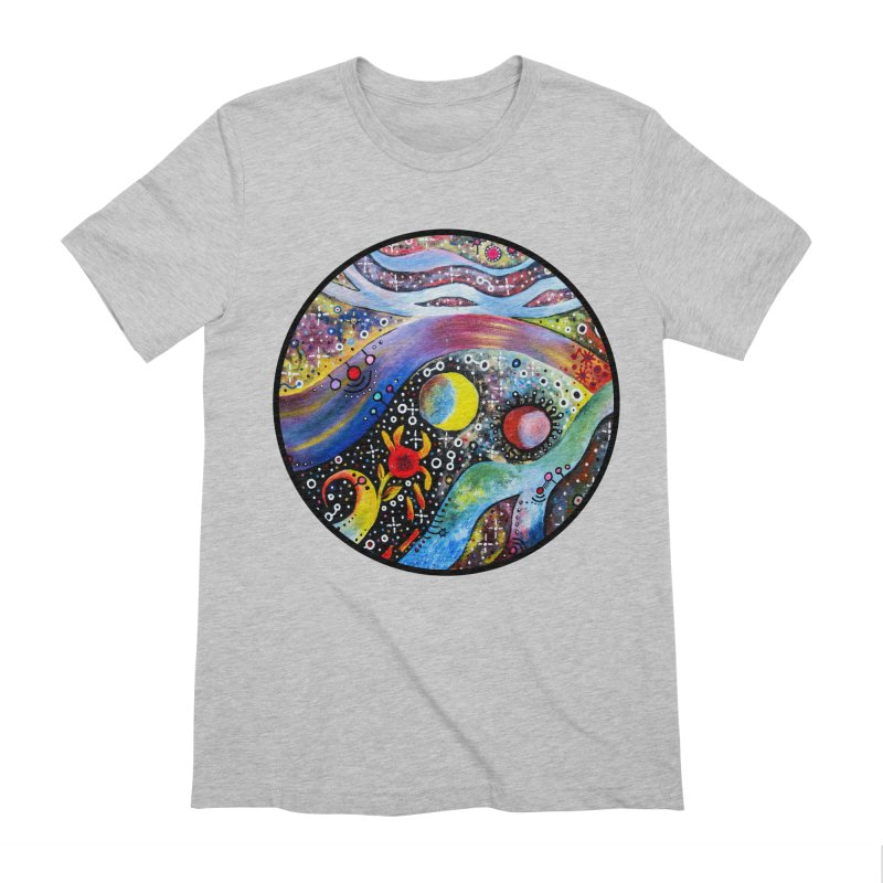 """astral"" redesign Men's Extra Soft T-Shirt by J. Lavallee's Artist Shop"