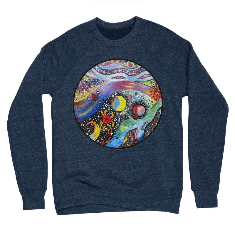 """""""astral"""" redesign Men's Sponge Fleece Sweatshirt by J. Lavallee's Artist Shop"""