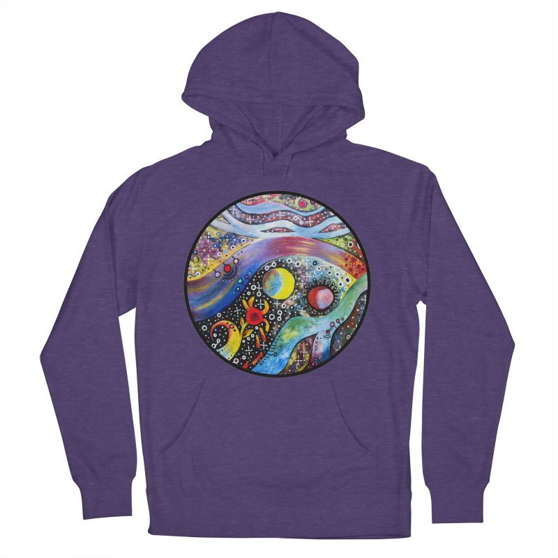 """astral"" redesign Women's French Terry Pullover Hoody by J. Lavallee's Artist Shop"