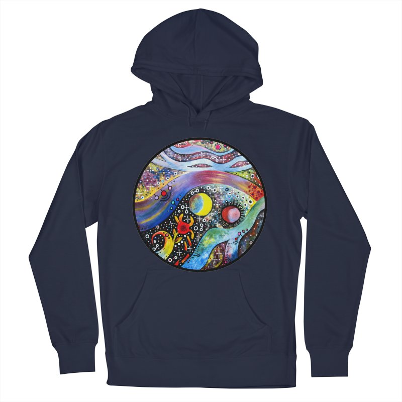 """""""astral"""" redesign Women's French Terry Pullover Hoody by J. Lavallee's Artist Shop"""