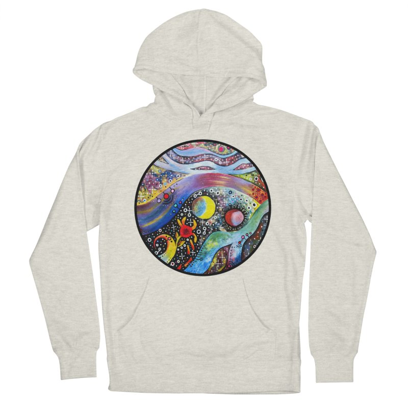 """astral"" redesign Men's French Terry Pullover Hoody by J. Lavallee's Artist Shop"