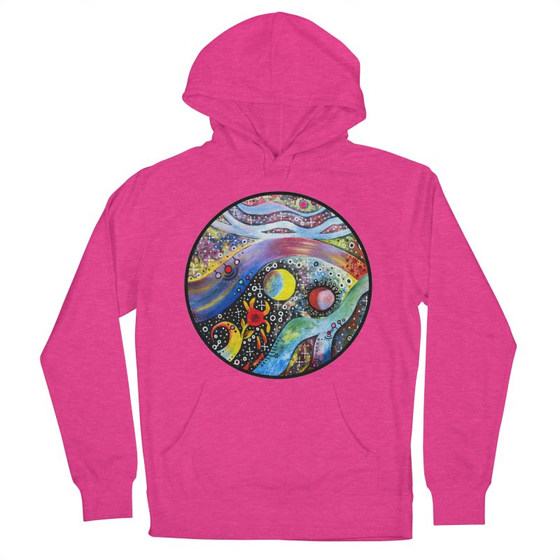 """""""astral"""" redesign Men's French Terry Pullover Hoody by J. Lavallee's Artist Shop"""