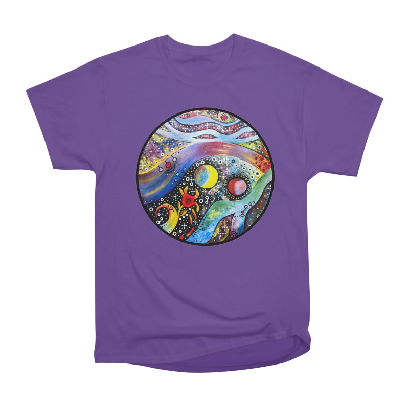 """""""astral"""" redesign Men's Heavyweight T-Shirt by J. Lavallee's Artist Shop"""