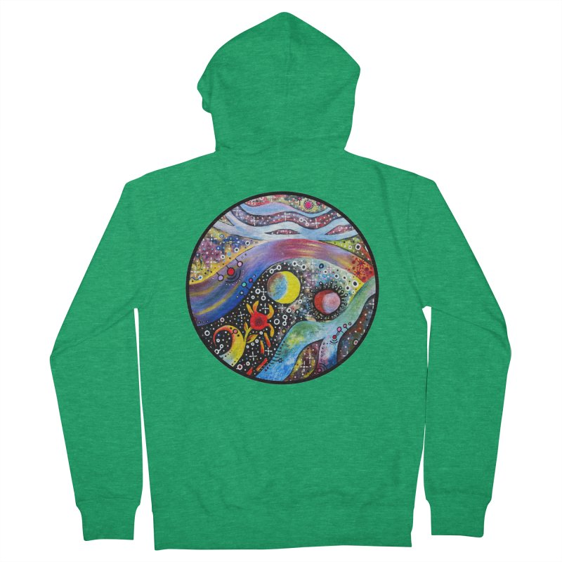 """""""astral"""" redesign Women's French Terry Zip-Up Hoody by J. Lavallee's Artist Shop"""
