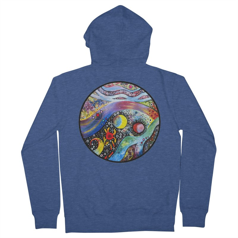 """astral"" redesign Women's French Terry Zip-Up Hoody by J. Lavallee's Artist Shop"