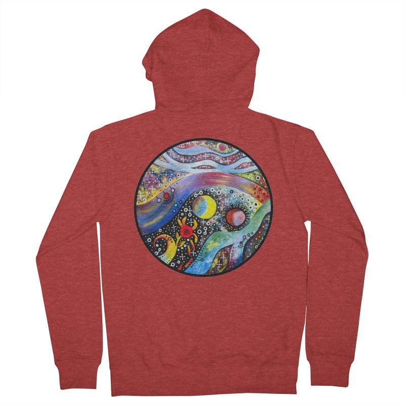 """""""astral"""" redesign Men's French Terry Zip-Up Hoody by J. Lavallee's Artist Shop"""