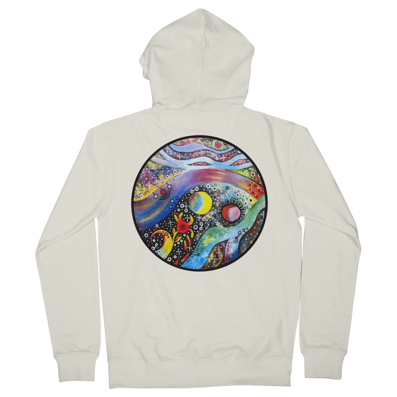 """astral"" redesign Men's French Terry Zip-Up Hoody by J. Lavallee's Artist Shop"
