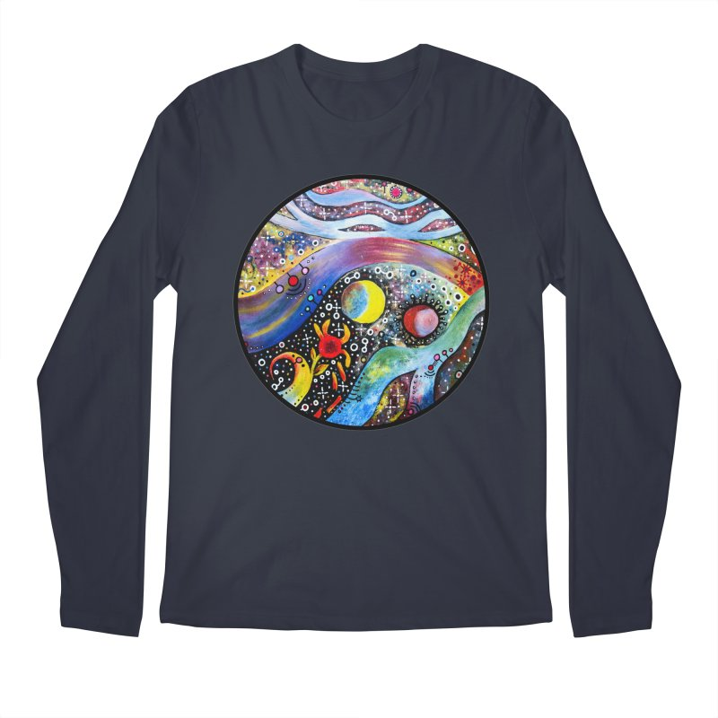 """astral"" redesign Men's Regular Longsleeve T-Shirt by J. Lavallee's Artist Shop"