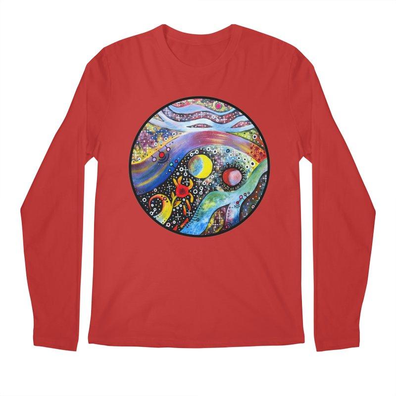 """astral"" redesign Men's Regular Longsleeve T-Shirt by J. Lavallee's Artist Shop"