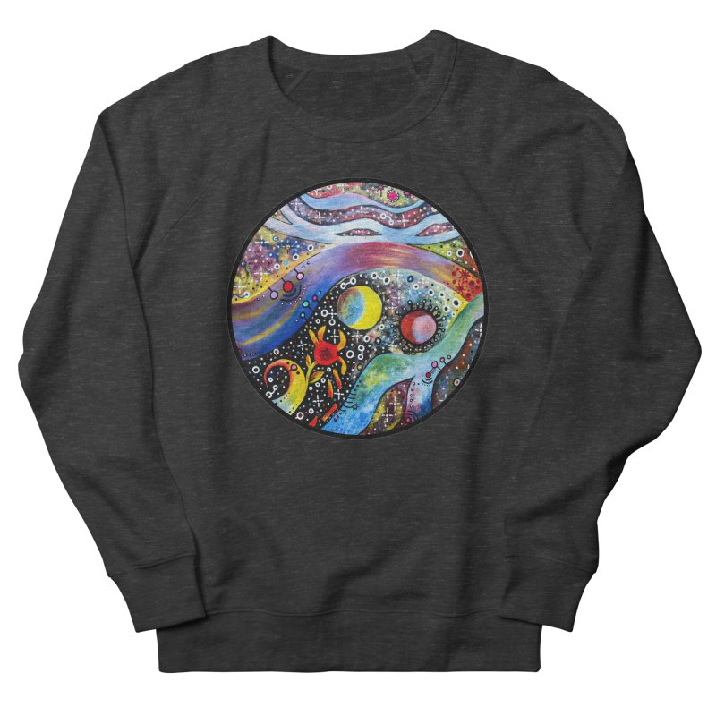 """""""astral"""" redesign Women's French Terry Sweatshirt by J. Lavallee's Artist Shop"""