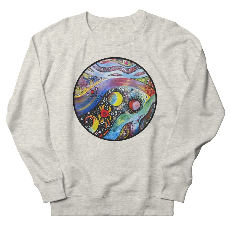 """""""astral"""" redesign Men's French Terry Sweatshirt by J. Lavallee's Artist Shop"""
