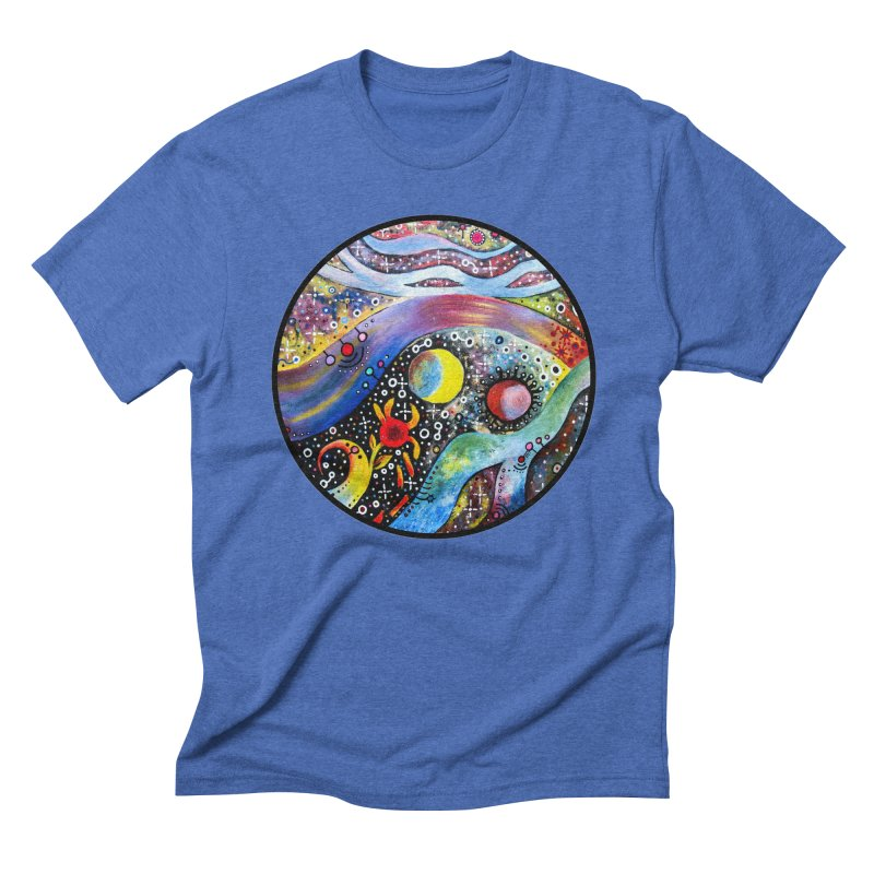 """astral"" redesign Men's Triblend T-Shirt by J. Lavallee's Artist Shop"