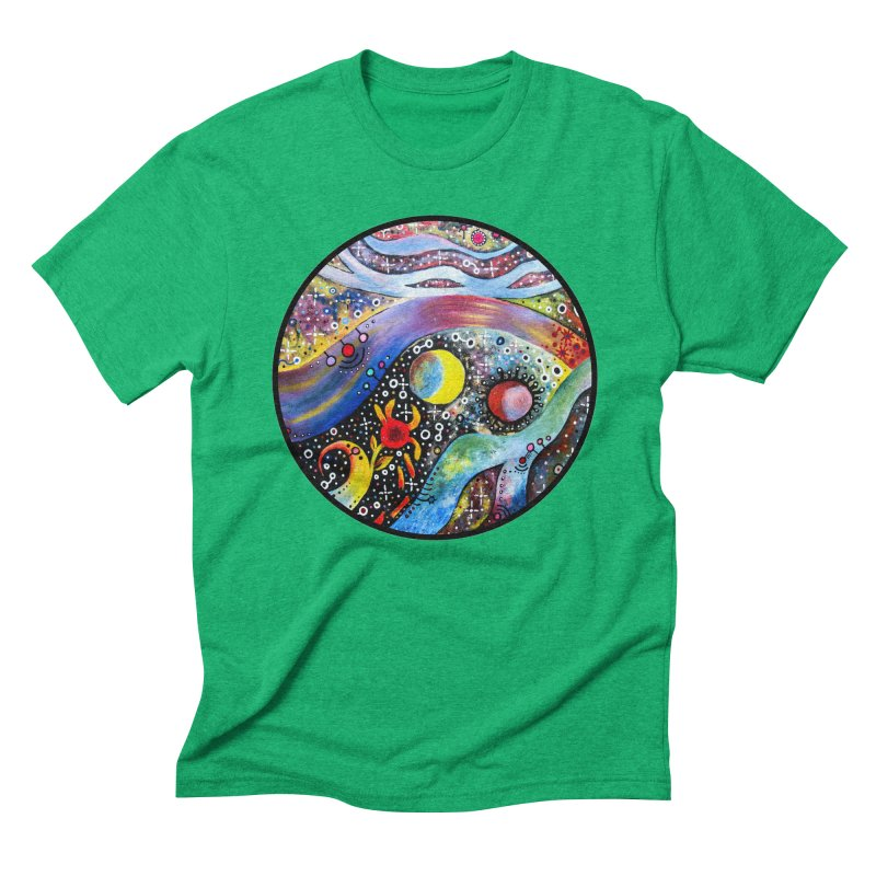 """""""astral"""" redesign Men's Triblend T-Shirt by J. Lavallee's Artist Shop"""