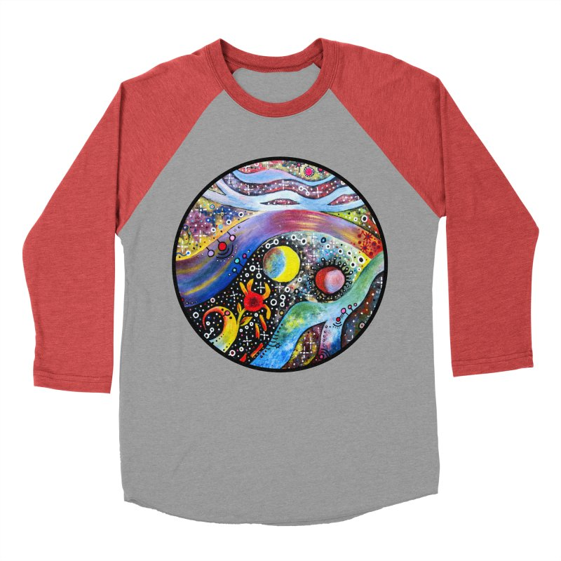 """astral"" redesign Women's Baseball Triblend Longsleeve T-Shirt by J. Lavallee's Artist Shop"