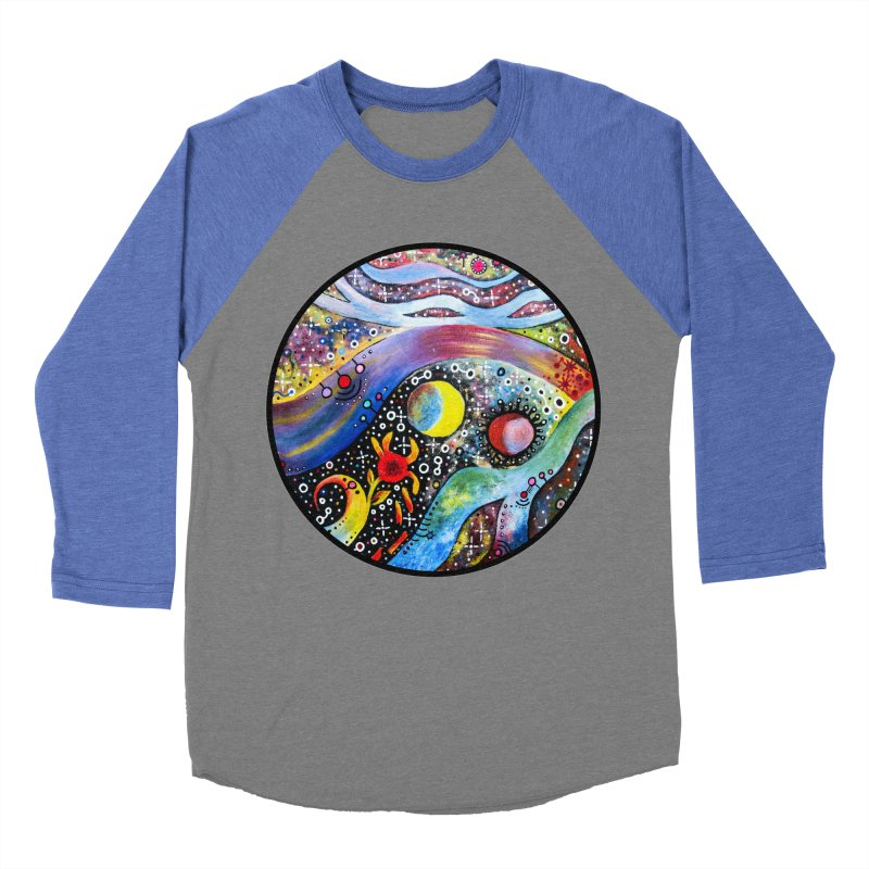 """astral"" redesign Men's Baseball Triblend Longsleeve T-Shirt by J. Lavallee's Artist Shop"