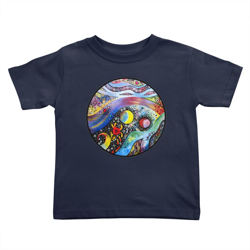 """""""astral"""" redesign Kids Toddler T-Shirt by J. Lavallee's Artist Shop"""