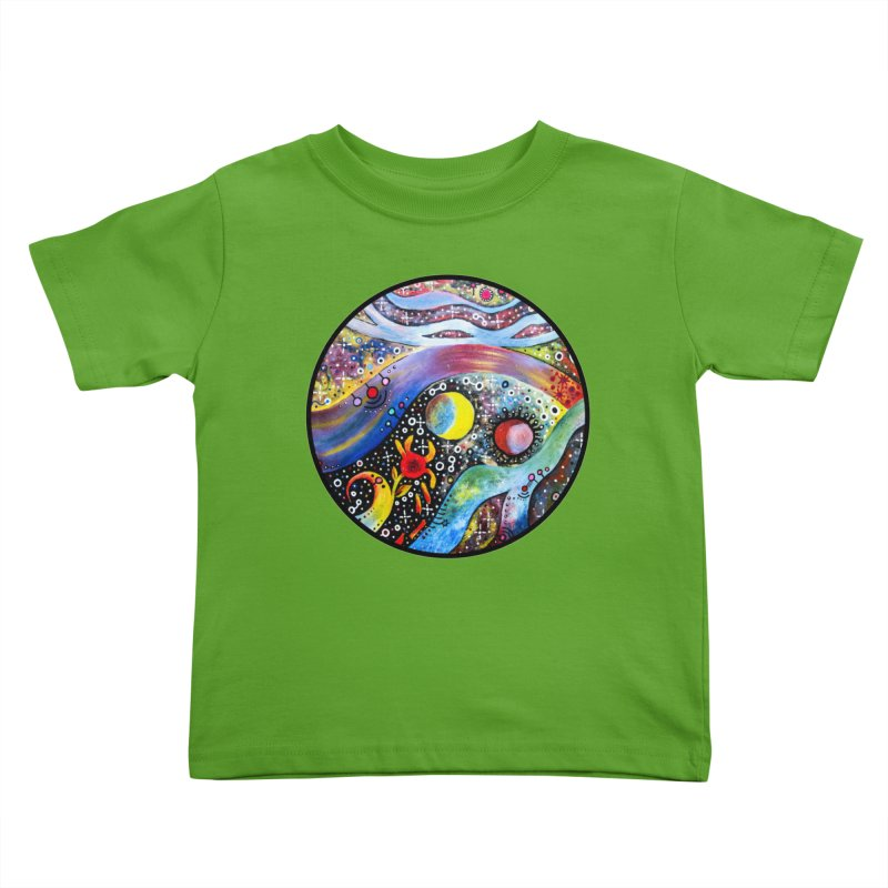 """astral"" redesign Kids Toddler T-Shirt by J. Lavallee's Artist Shop"