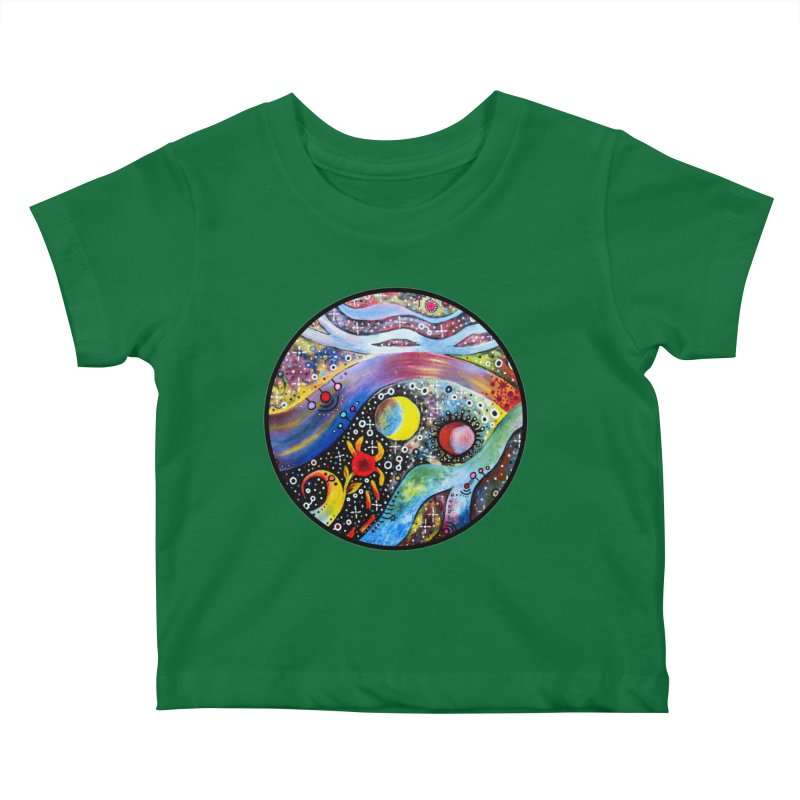 """""""astral"""" redesign Kids Baby T-Shirt by J. Lavallee's Artist Shop"""