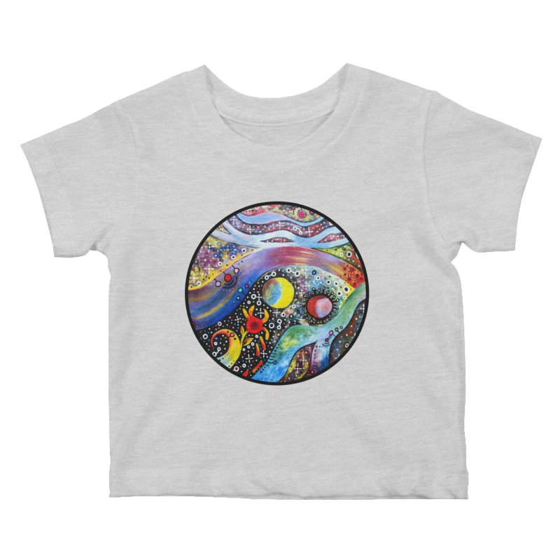 """astral"" redesign Kids Baby T-Shirt by J. Lavallee's Artist Shop"