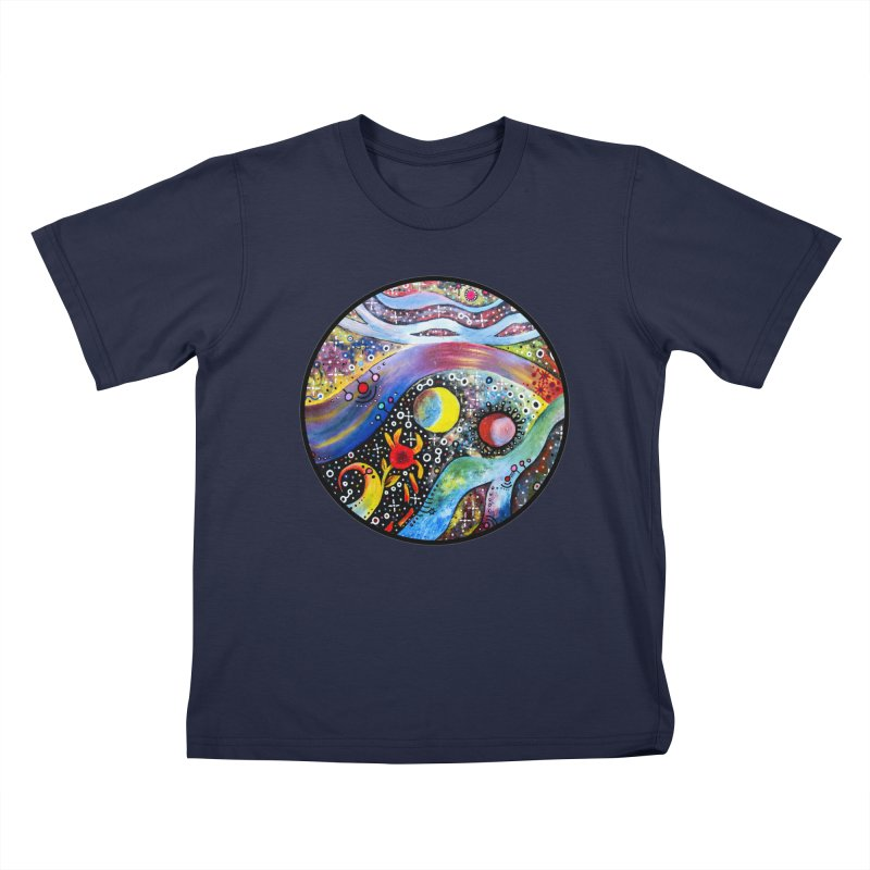 """astral"" redesign Kids T-Shirt by J. Lavallee's Artist Shop"