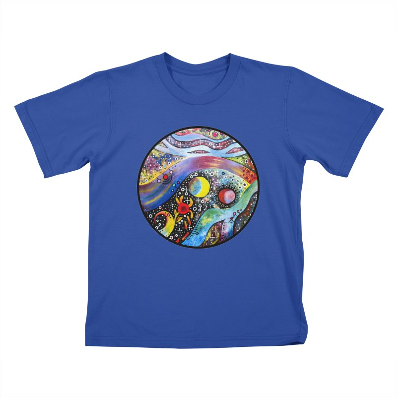 """""""astral"""" redesign Kids T-Shirt by J. Lavallee's Artist Shop"""