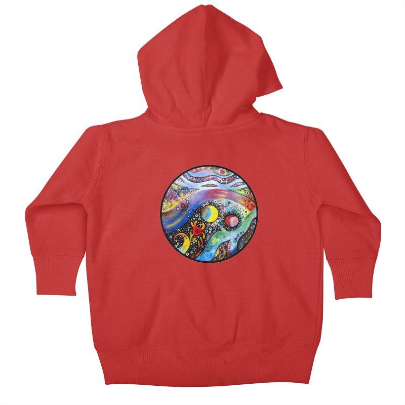 """astral"" redesign Kids Baby Zip-Up Hoody by J. Lavallee's Artist Shop"