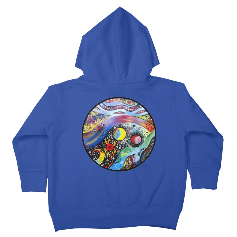"""astral"" redesign Kids Toddler Zip-Up Hoody by J. Lavallee's Artist Shop"