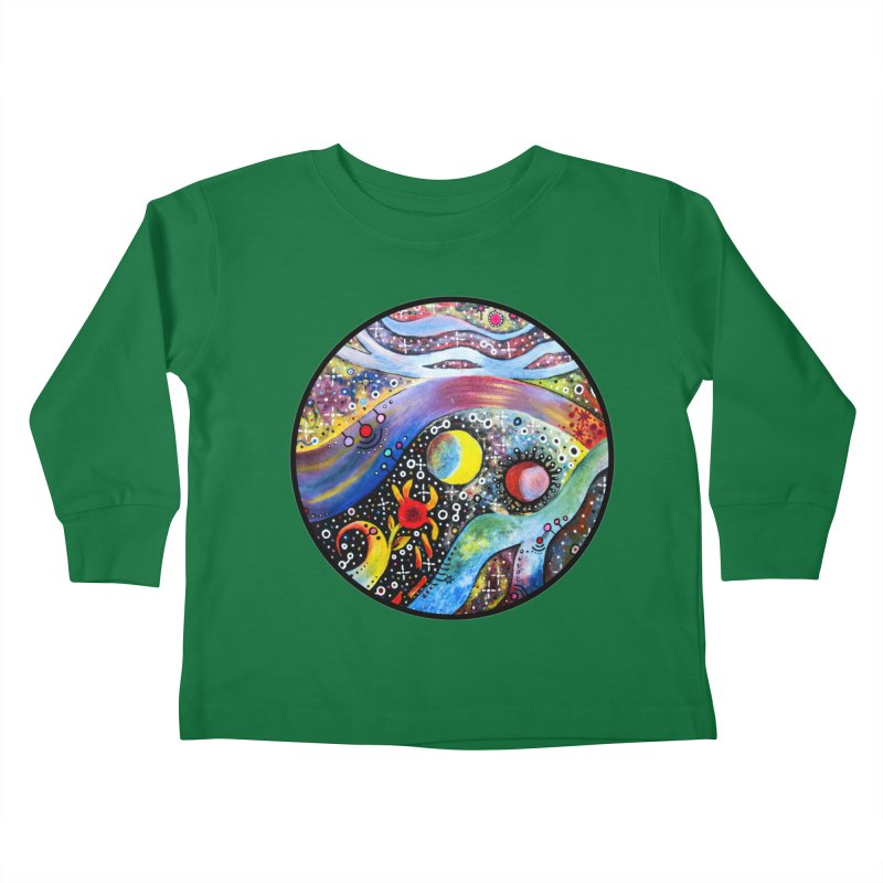 """""""astral"""" redesign Kids Toddler Longsleeve T-Shirt by J. Lavallee's Artist Shop"""