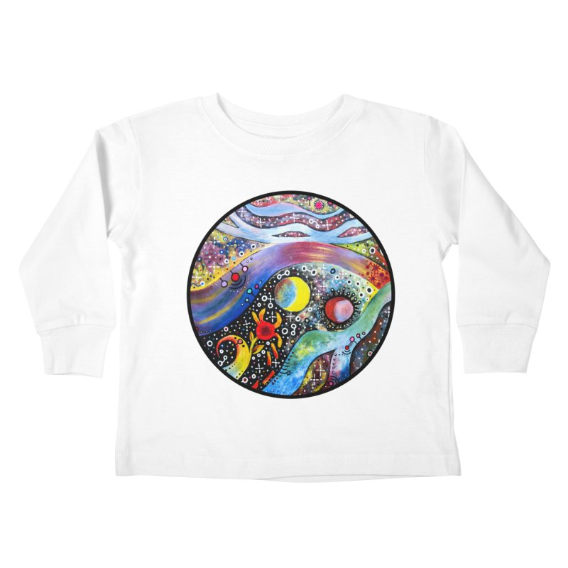 """astral"" redesign Kids Toddler Longsleeve T-Shirt by J. Lavallee's Artist Shop"
