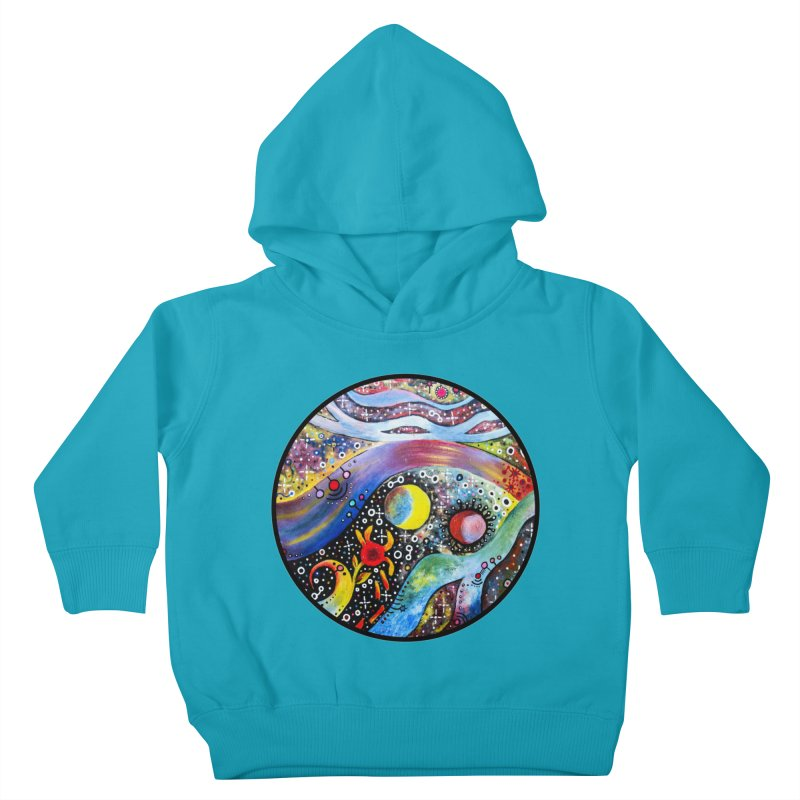 """""""astral"""" redesign Kids Toddler Pullover Hoody by J. Lavallee's Artist Shop"""
