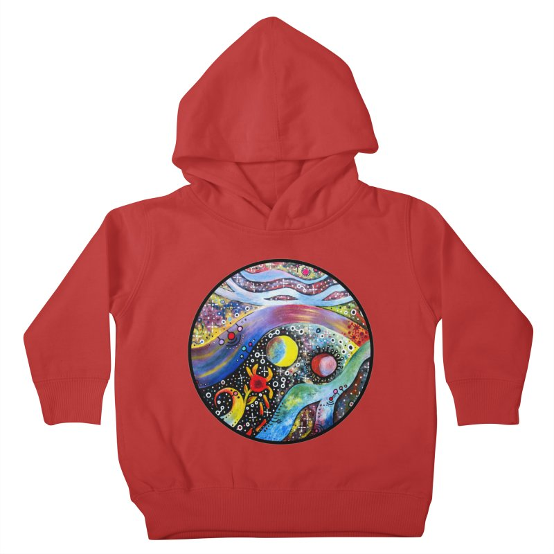 """astral"" redesign Kids Toddler Pullover Hoody by J. Lavallee's Artist Shop"