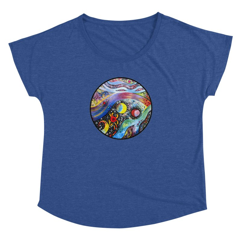 """astral"" redesign Women's Dolman Scoop Neck by J. Lavallee's Artist Shop"