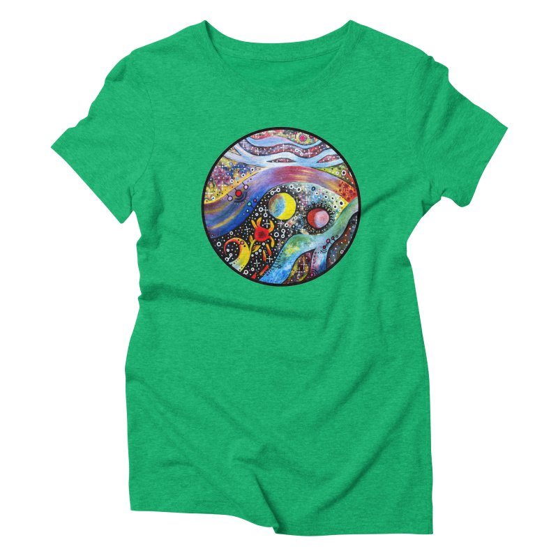 """astral"" redesign Women's Triblend T-Shirt by J. Lavallee's Artist Shop"