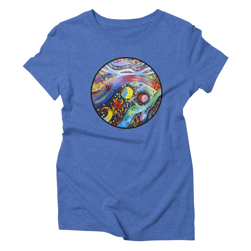 """""""astral"""" redesign Women's Triblend T-Shirt by J. Lavallee's Artist Shop"""