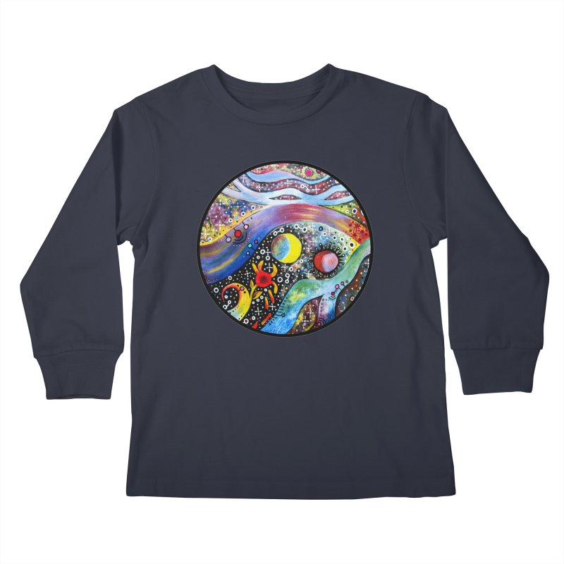 """""""astral"""" redesign Kids Longsleeve T-Shirt by J. Lavallee's Artist Shop"""