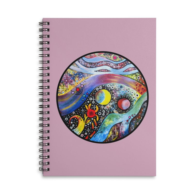 """astral"" redesign Accessories Lined Spiral Notebook by J. Lavallee's Artist Shop"