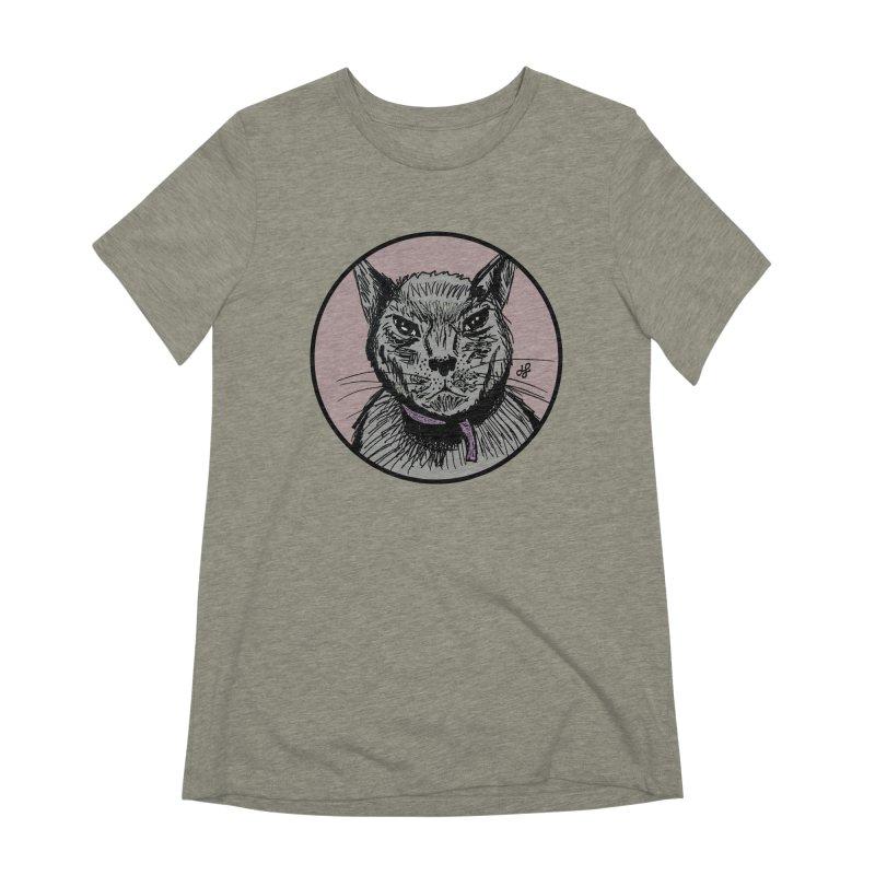"""""""murder cat"""" Women's Extra Soft T-Shirt by J. Lavallee's Artist Shop"""