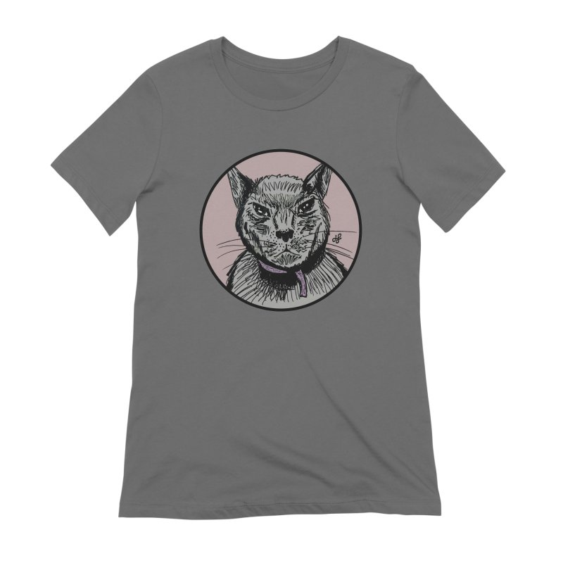 """murder cat"" Women's T-Shirt by J. Lavallee's Artist Shop"