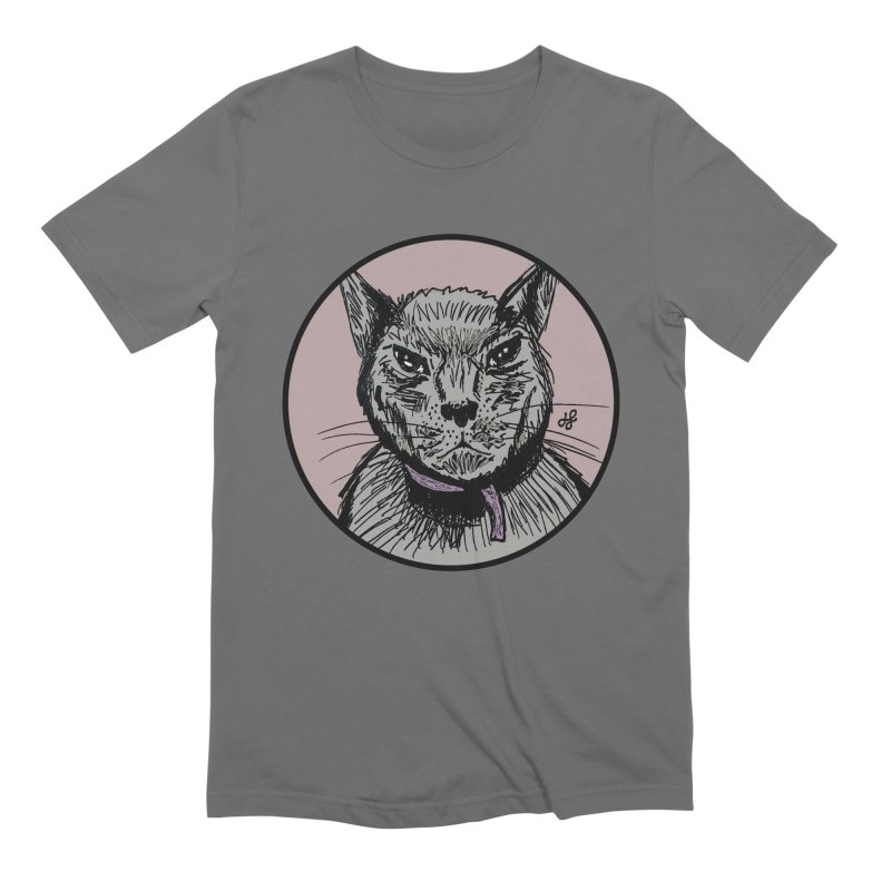 """murder cat"" Men's Extra Soft T-Shirt by J. Lavallee's Artist Shop"