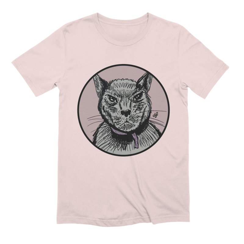 """murder cat"" Men's Extra Soft T-Shirt by J. Lavallee's Artist Shop"