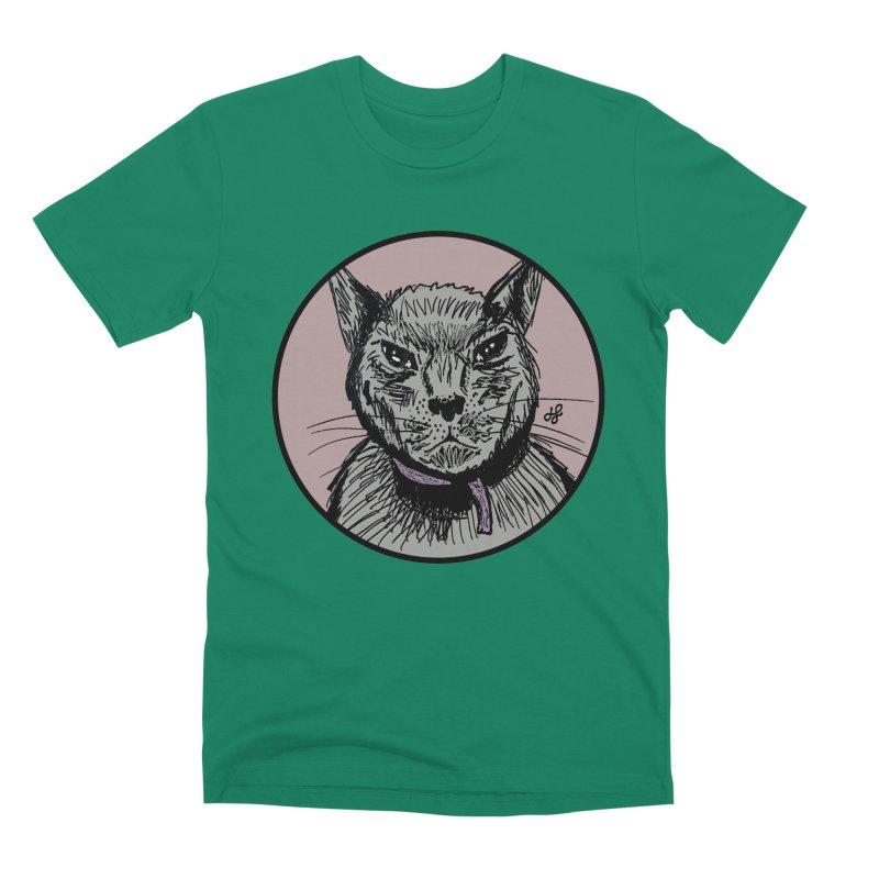 """murder cat"" Men's Premium T-Shirt by J. Lavallee's Artist Shop"
