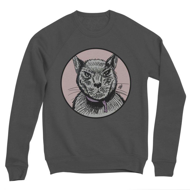 """""""murder cat"""" Men's Sponge Fleece Sweatshirt by J. Lavallee's Artist Shop"""