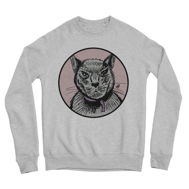 """""""murder cat"""" Women's Sponge Fleece Sweatshirt by J. Lavallee's Artist Shop"""