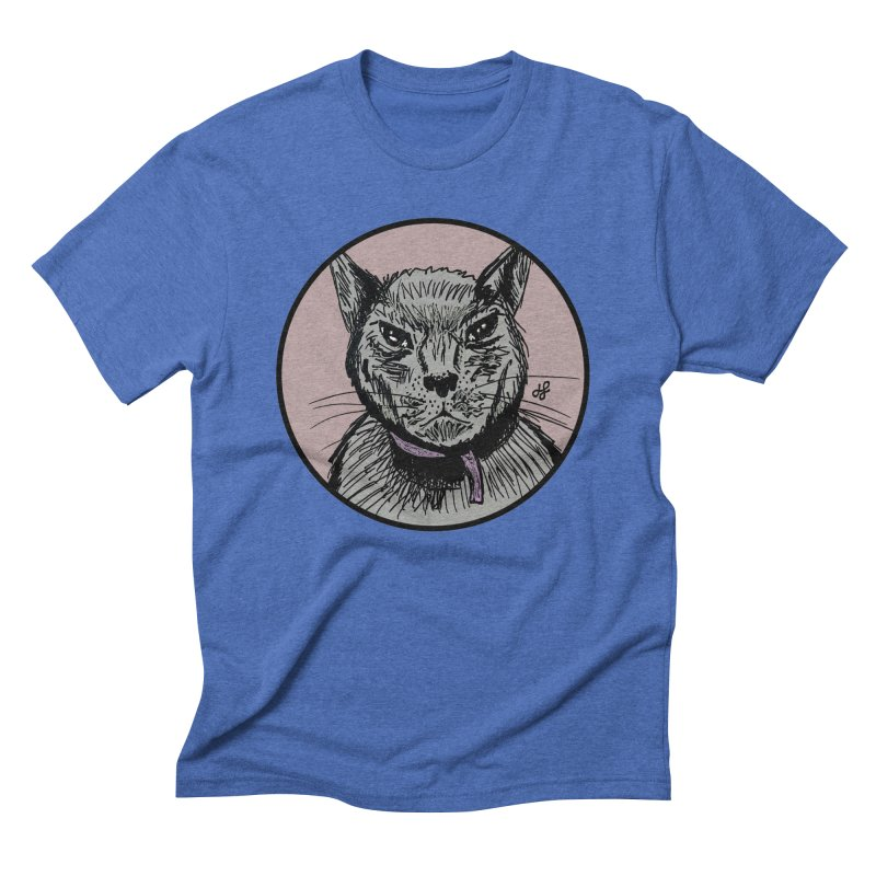 """murder cat"" Men's T-Shirt by J. Lavallee's Artist Shop"